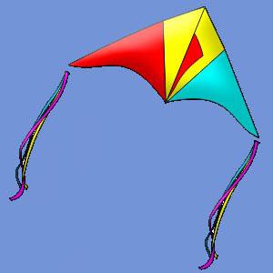 Воздушный змей «Ласточка»