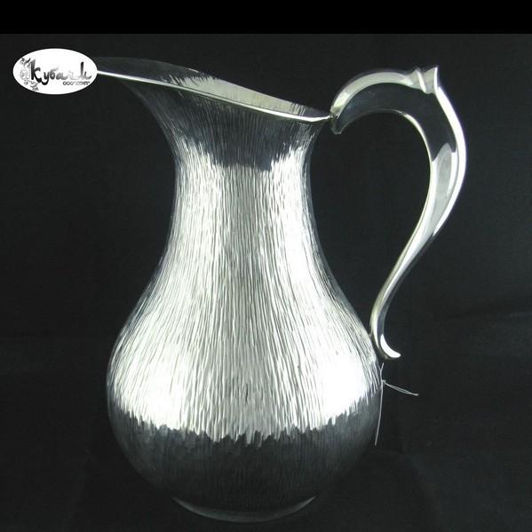 Кувшин для воды серебряный