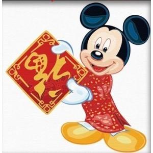 Картина по номерам Микки Маус