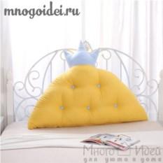 Декоративная подушка-корона Царское украшение
