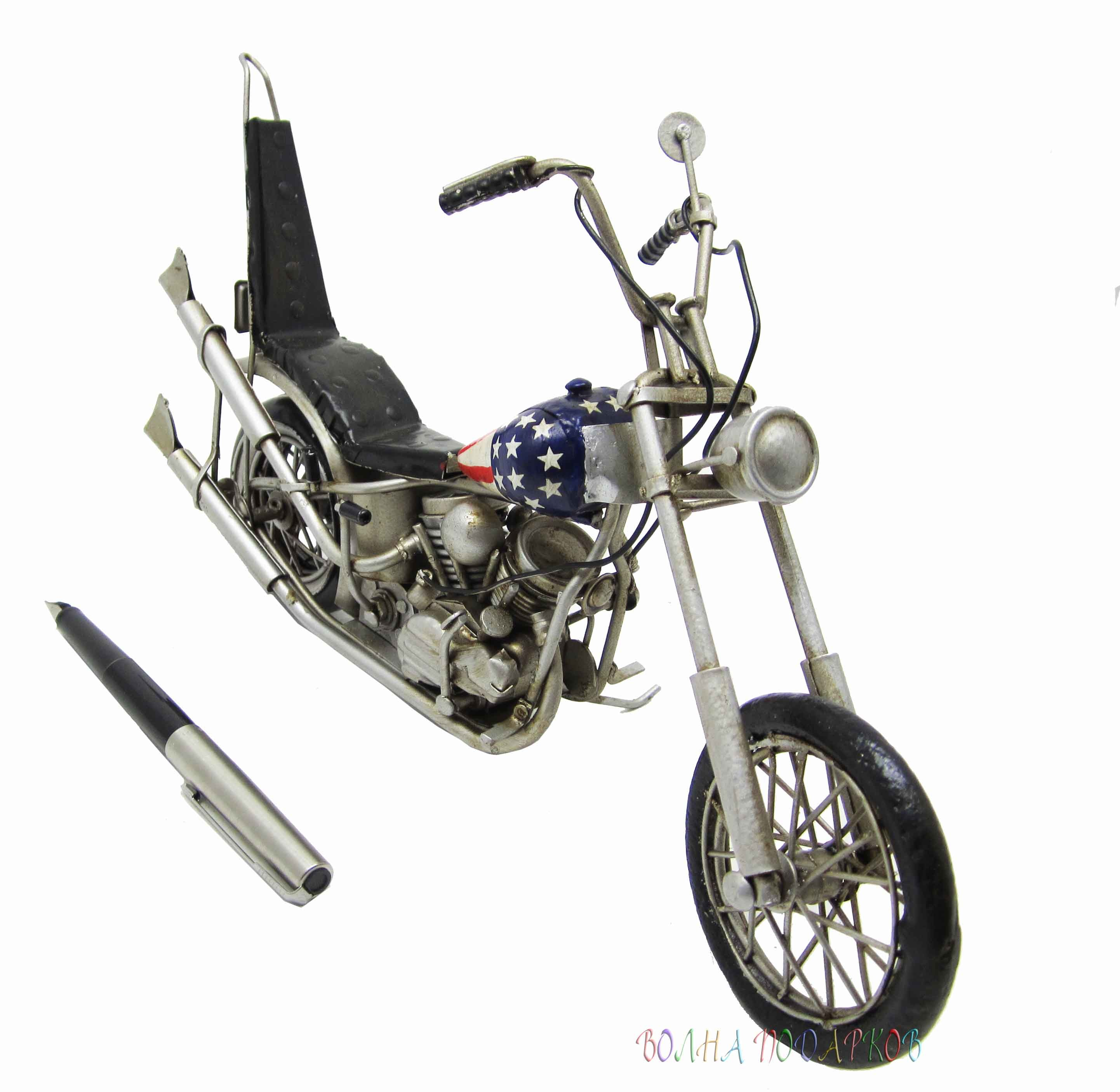 Модель мотоцикла легенды HARLEY-DAVIDSON, EASY RIDER 1940'S-1950'S