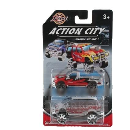 Набор машинок Action City