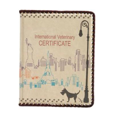 Обложка для ветеринарного паспорта Классика