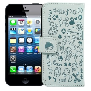 Чехол для iPhone 5 Dreams (голубой)