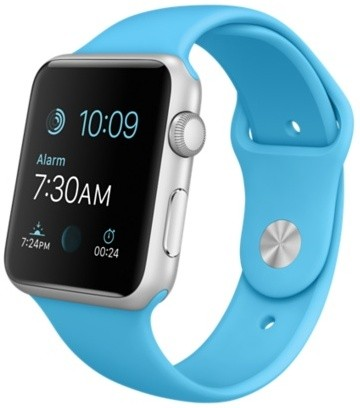Apple Watch Sport 42mm with Sport Band (Blue)
