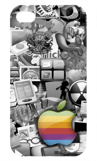 Пластиковая 3D накладка для iphone 5
