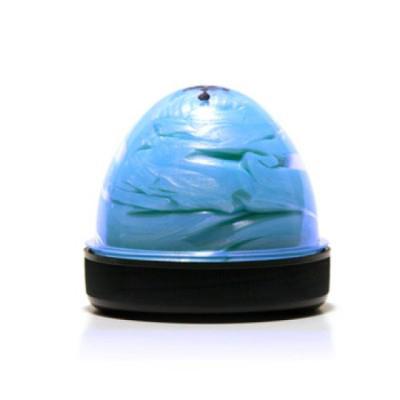 Голубой фанпластик с запахом мяты