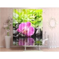 Штора для ванной Несравненная орхидея