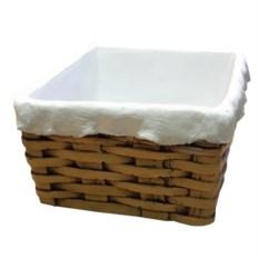 Декоративное кашпо Квадратная плетеная корзина