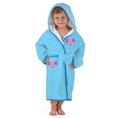 Детский махровый халат для мальчиков