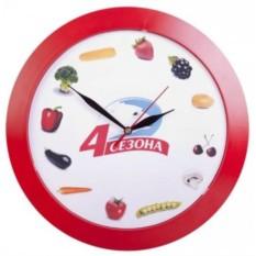 Настенные часы Vivid Large (цвет — красный)