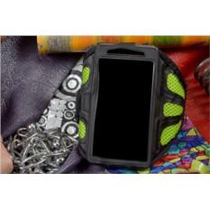 Универсальный зеленый cпортивный чехол на руку для телефона