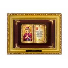 Православное панно Богородица семистрельная
