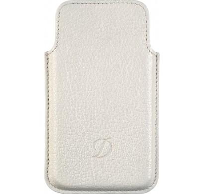 Белый чехол S.T. Dupont Liberte для iPhone 4/4S