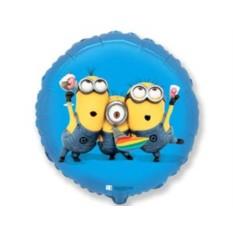 Фольгированный шар Миньоны на вечеринке