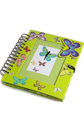 Фотоальбом с рамкой для фото Бабочки