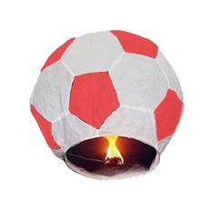Небесный фонарик бумажный Футбольный мяч