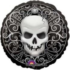 Шар Halloween black