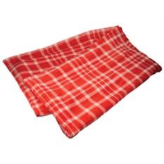 Красный плед «Эдинбург»