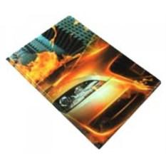 Обложка на паспорт Машина-огонь