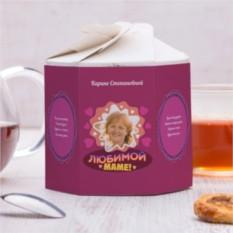 Чайный набор Для самой красивой мамы 2 с вашим фото