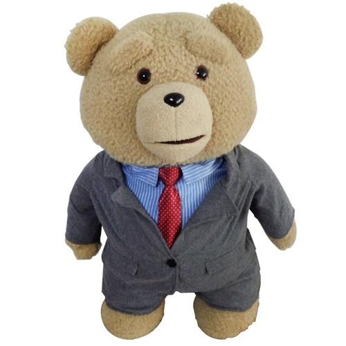 Медведь Тед в деловом костюме