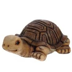 Декоративная садовая фигура Коричневая черепаха