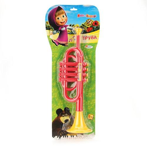 Детская музыкальная игрушка Труба Маша и Медведь