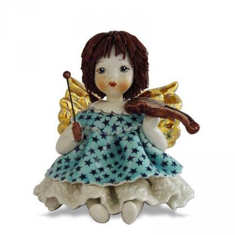 Статуэтка «Ангел со скрипкой»