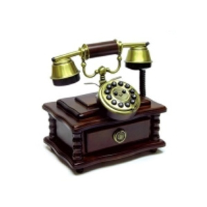 Ретро-телефон с ящичком