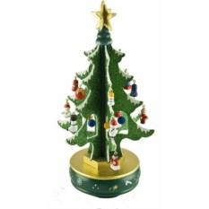 Музыкальная новогодняя Зеленая елка с украшениями