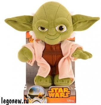 Мягкая игрушка Звездные Войны. Йода (Disney)