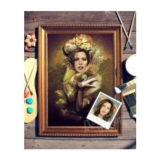 Портрет по фото Фея