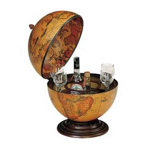 Настольный глобус-бар