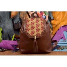 Женский рюкзак с принтом The Rolling Stones