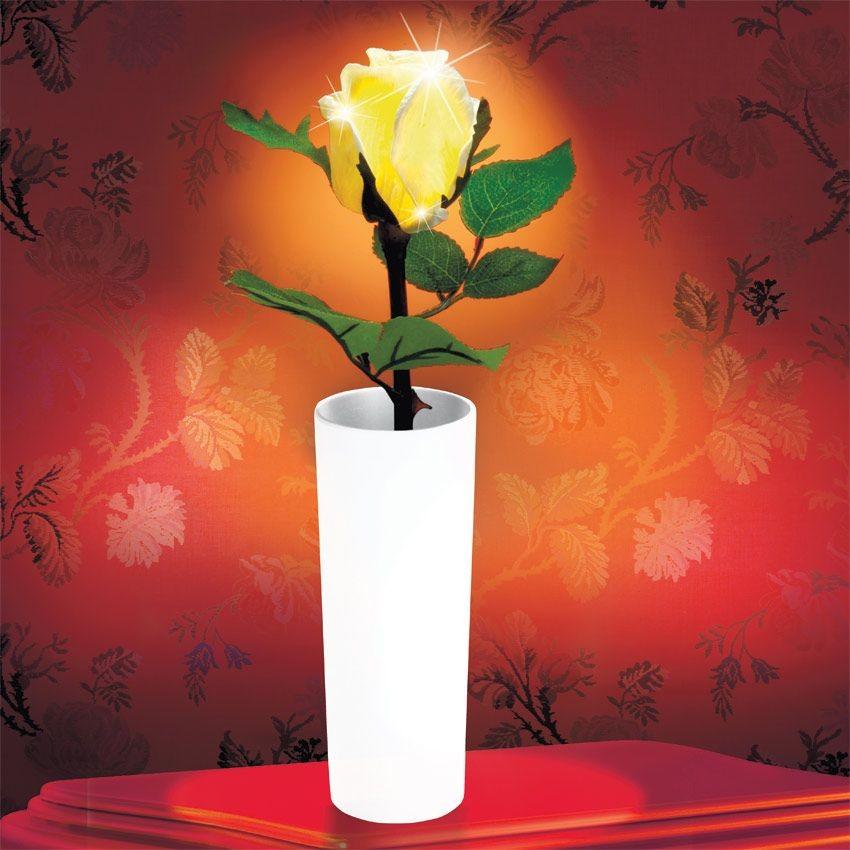 Светильник Роза с подсветкой