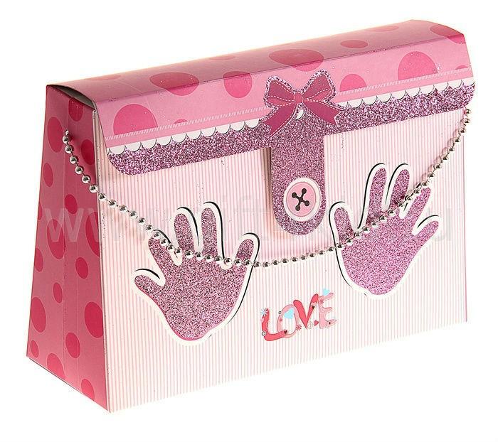 Подарочная коробка Следики