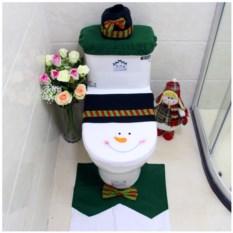Набор для украшения туалета Снеговик