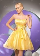 Вечернее платье (желтое)