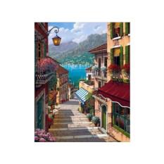 Алмазная вышивка «Поселок Белладжо»