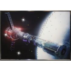 Картина с кристаллами Swarowski В космосе