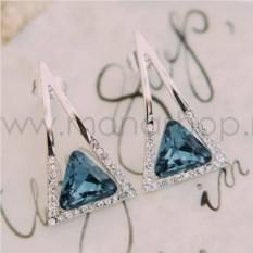 Кольцо с цветными камнями Сваровски «Краски лета»
