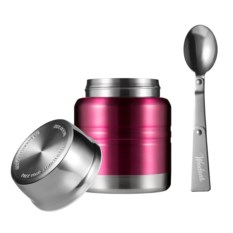Термос для еды Lunch Spot (бургунди металлик, 350 мл)