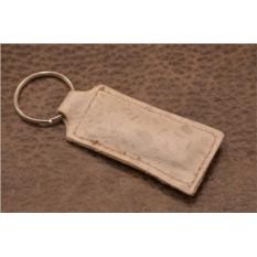 Брелок для ключей. Коллекция Amelie (Бежевый; нат. кожа)