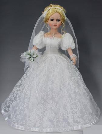 Коллекционная кукла Невеста