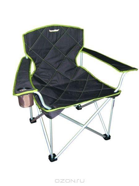 Кресло складное RockLand КРА, темный хаки