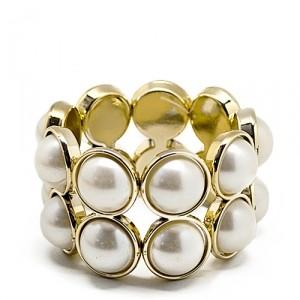 Браслет Big pearls