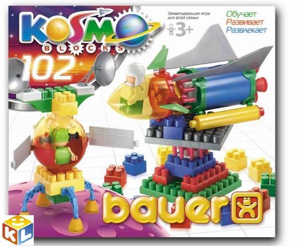 Конструктор Bauer серия Космос 102 элемента