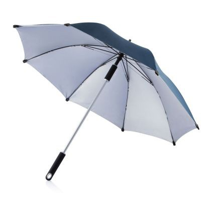Тёмно-синий зонт-трость Hurricane 23
