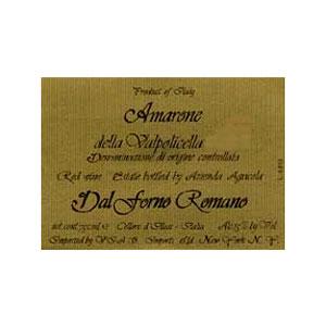 Вино Amarone della Valpolicella. Dal Forno